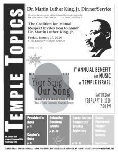 January/February 2020 Temple Topics